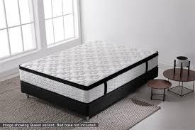 ovela euro top latex mattress single kogan com