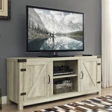 sliding barn door media center wayfair