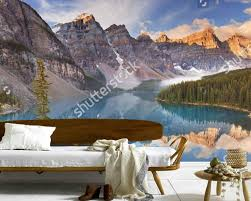 Mountain Mural Wall Art Wallpaper Online Buy Wholesale Wall Murals Canada From China Wall Murals