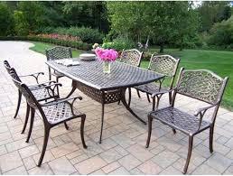 Cast Aluminum Patio Furniture Sets Marvelous Refinishing Concrete Patio Furniture E Patio Furniture
