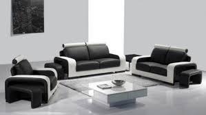 salon canapé cuir canape cuir moderne contemporain meubles de salon design avec