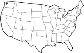 united states map black and white december 2011 free printable maps