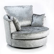 Grey Velvet Sofa by Crushed Velvet Furniture Sofas Beds Chairs Cushions