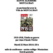 siege thiriet conférence 1915 1918 l italie en guerre par j p thiriet società
