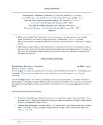 Management Consulting Resume Sample by Consulting Resume Example