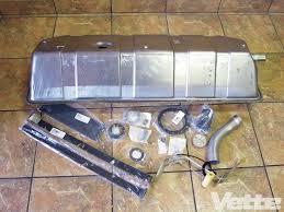 corvette central deluxe c1 gas tank kit installation cc tech