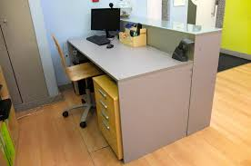 Small White Reception Desk by Diy Building A Reception Desk Something On Everything
