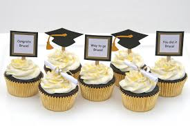 graduation cupcake ideas graduation cupcakes with do it yourself toppers glorious treats