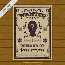 wanted poster vectors photos and psd files free download