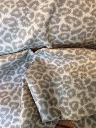 grey taupe ivory cheetah animal print outdoor upholstery fabric 01