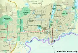 Zhuhai China Map by Shenzhen Street Map Shenzhen Road Map Shenzhen Districts