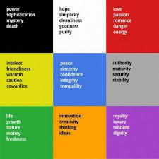 List Of Colours And Their Meanings 276 Best Colour And Meaning Images On Pinterest