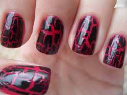 red nail designs cool nail designs red and black fixstik