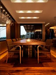 Conference Room Lighting Glass Conference Table Dining Room Rustic With Ceiling Lighting