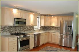 Unfinished Wood Kitchen Cabinets Kitchen Inexpensive Elegant Kitchen Appliance Packages Lowes For