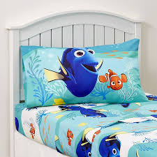 Disney Store Comforter Amazon Com Disney Finding Dory 4 Piece Bedding Set Comforter And