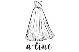 wedding dress shape guide wedding dress silhouette guide