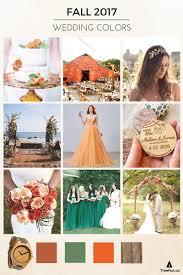 fall 2017 pantone colors walk down the aisle in 2017 s popular wedding colors wedding