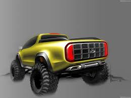 mercedes truck 2016 mercedes benz x class pickup concept 2016 picture 28 of 29