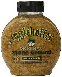 ground mustard inglehoffer ground mustard 10 ounce squeezable