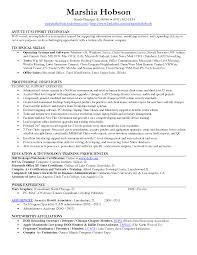 Information Technology Resume Objective Resume Information Technology Skills Sidemcicek Com