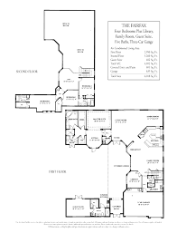 stonebrook estates floor plans and community profile the fairfax 2 story courtyard