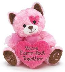 valentines day stuffed animals s day cats soft cuddly stuffed animals