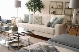 Beige And Blue Living Room Home Design Ideas - Beige living room designs