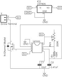 Led Blinking Circuit Diagram Red Strobe Light