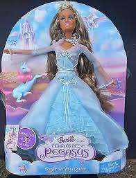 barbie u0026 magic pegasus rayla cloud queen doll deboxed