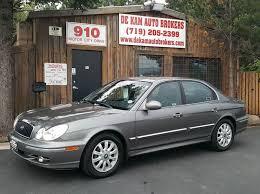 2003 hyundai sonata gls 2003 hyundai sonata gls 4dr sedan in colorado springs co de kam