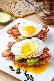 bacon egg avocado sandwiches u2013 best fast u0026 healthy breakfast food