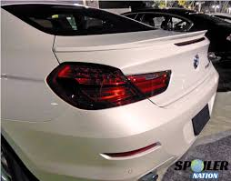 2012 2017 bmw 6 series gran coupe tuner rear lip spoiler