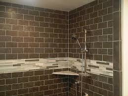 glass tile for bathrooms ideas the tiles are but i like the subway style and the glass