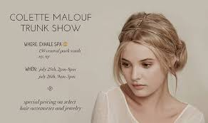 colette malouf colette malouf accessories jewelry new york trunk show