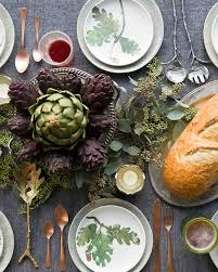 4 ways to set your thanksgiving day table so you can register in