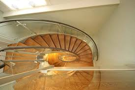Helical Staircase Design Arkwright Bespoke Steel Helical Staircase Canal Architectural