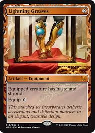 lightning greaves masterpiece series kaladesh inventions magic the