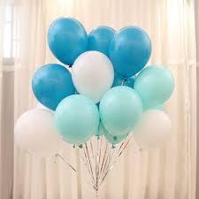 Tiffany Color Party Decorations Aliexpress Com Buy 10pc Lot Tiffany Blue Balloons 10 Inch
