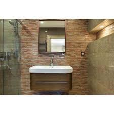 Bronze Bathroom Mirrors by Bronze Copper Metallic Mirrors Wall Decor The Home Depot