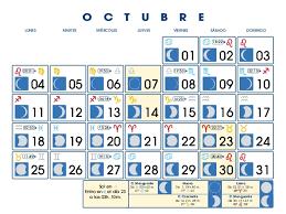 imagenes calendario octubre 2015 para imprimir calendario lunar octubre de 2010