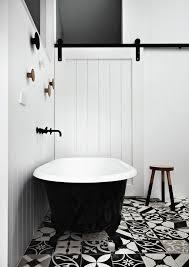 Black And White Checkered Tile Bathroom Black And White Tile Bathroom Fpudining