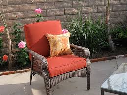 Dark Brown Wicker Patio Furniture by Furniture Engaging Living Room Decoration Using Square Cubic