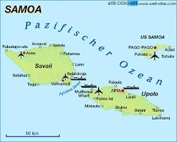 map samoa map of samoa map in the atlas of the world world atlas
