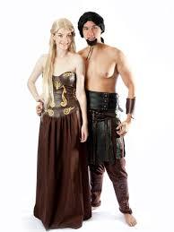 Game Thrones Halloween Costumes Khaleesi Custom Game Thrones Daenerys Targaryen Dothraki Khal
