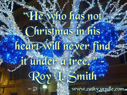famous christmas quotes cathy