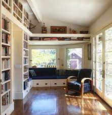 Home Library Furniture by 36 Fabulous Home Libraries Showcasing Window Seats