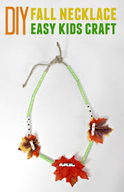 diy fall necklace easy kids craft six time mommy and counting u2026