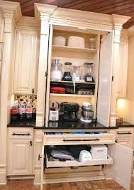 kitchen appliance storage ideas kitchen appliance storage creative appliances storage ideas for