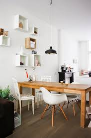 homy modern dining room with unfinished wooden coffee table lovable